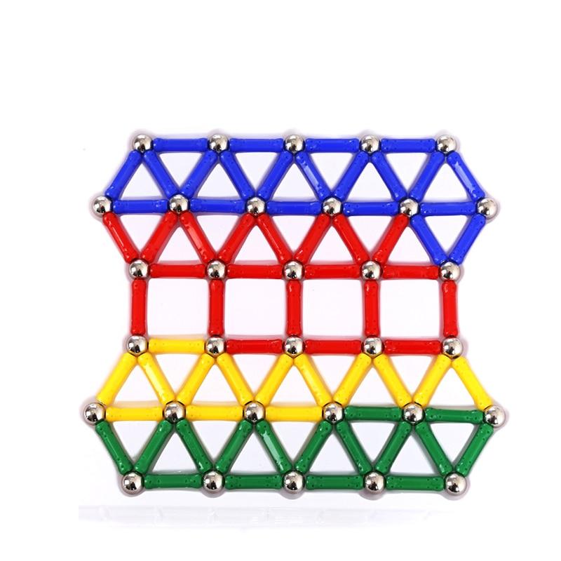 DIY магнитного строительные блоки волшебный магнит палочки набор строительных блоков Дети обучения Развивающие игрушки для детей