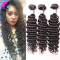 Brazilian Virgin Hair Deep Wave 3 Bundles Brazilian Deep Wave Brazilian Hair Deep Curly Brazilian Hair Curly Weave Human Hair