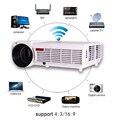 5500 lumens acessórios inteligente Android 4.4 tv lcd led projetor full hd 1920x1080 3d home theater projetor de vídeo proyector beamer