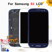 4.8'' LCD For Samsung Galaxy S3 i9300 i9300i i9308i Display Touch Screen Digitizer Assembly With Frame For Samsung S3 Display
