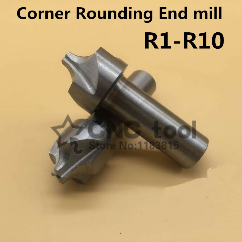 1pcs Corner Rounding Cutters R2 Diameter 10mm Corner Rounding End Mill Cheaper