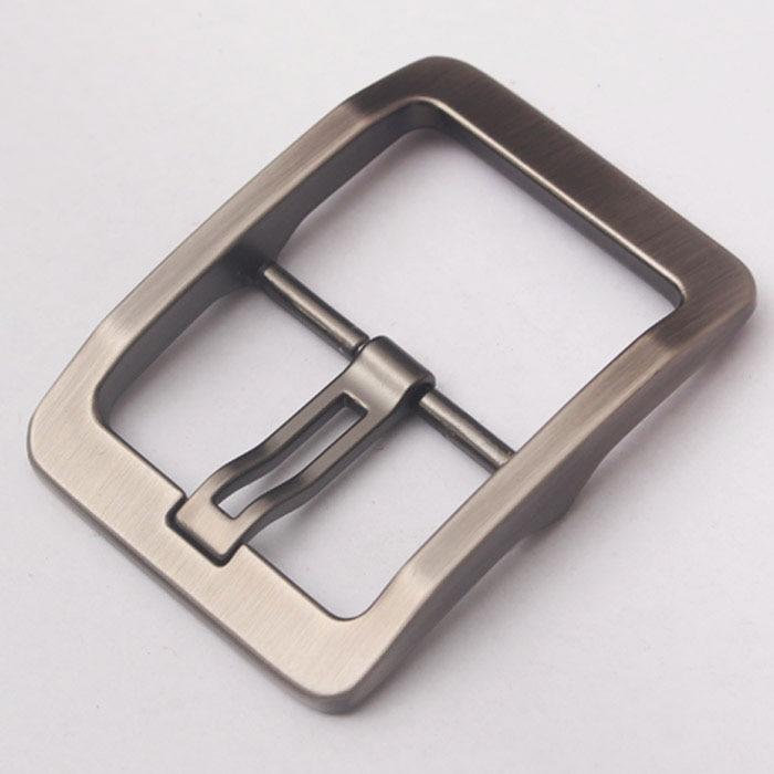 "Nickel Free Center Bar Single Prong Rectangular Belt Buckle, 1 1//2/"" 38 Mm"