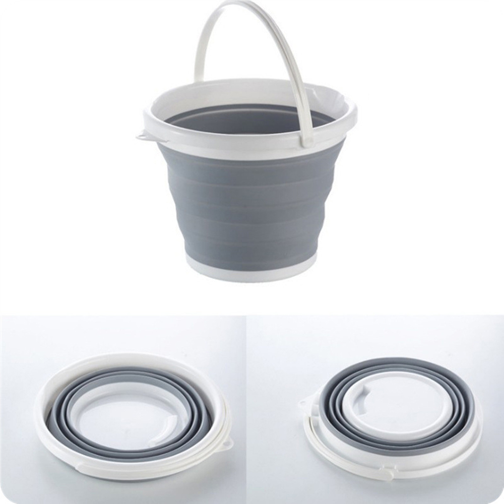 Creative foldable shopping basket function can put clothes snacks bathroom plastic storage basket