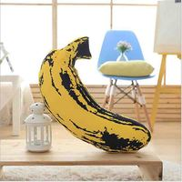 Fruit Simulation Yellow Banana Plush Stuffed Soft Pillow Cushion Toy Gift