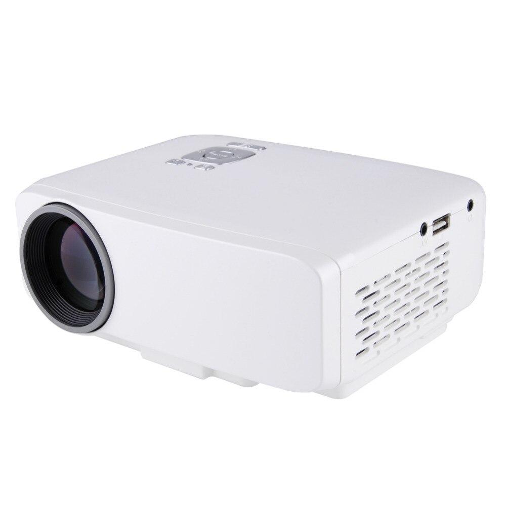 ФОТО  800 Lumens GP9S mini projector 1080p  Digital LED Projector Home Cinema Theater USB / SD / HDMI / VGA Input Interface EU/US/UK