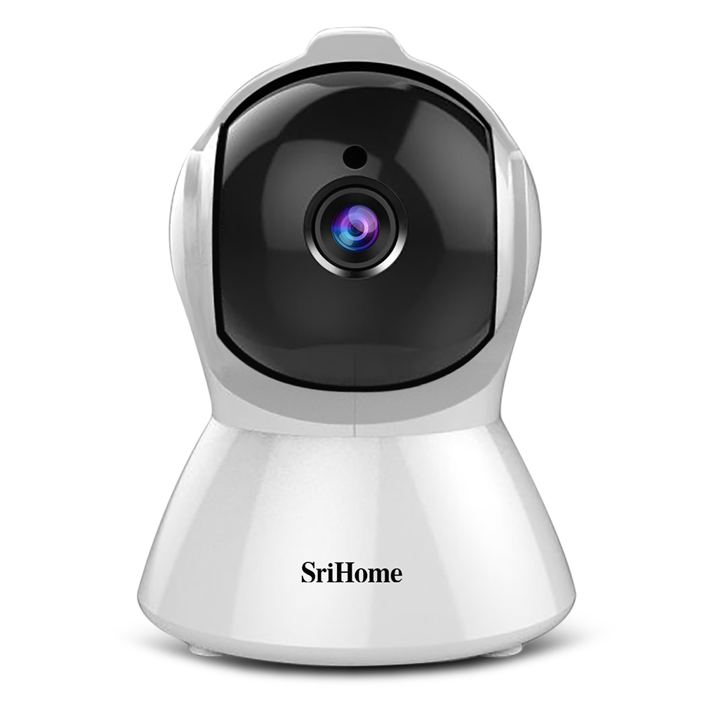 Original SriHome SH025 1080P AI Auto-tracking Wireless Indoor IP Camera IR Night Vision Smart Motion Tracking Security Camera