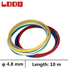 LDDQ tube thermorétractable 10m 3:1 | Avec colle, adhésif, dia4.8 mm, gaine thermorétractable, fil étanche(China)