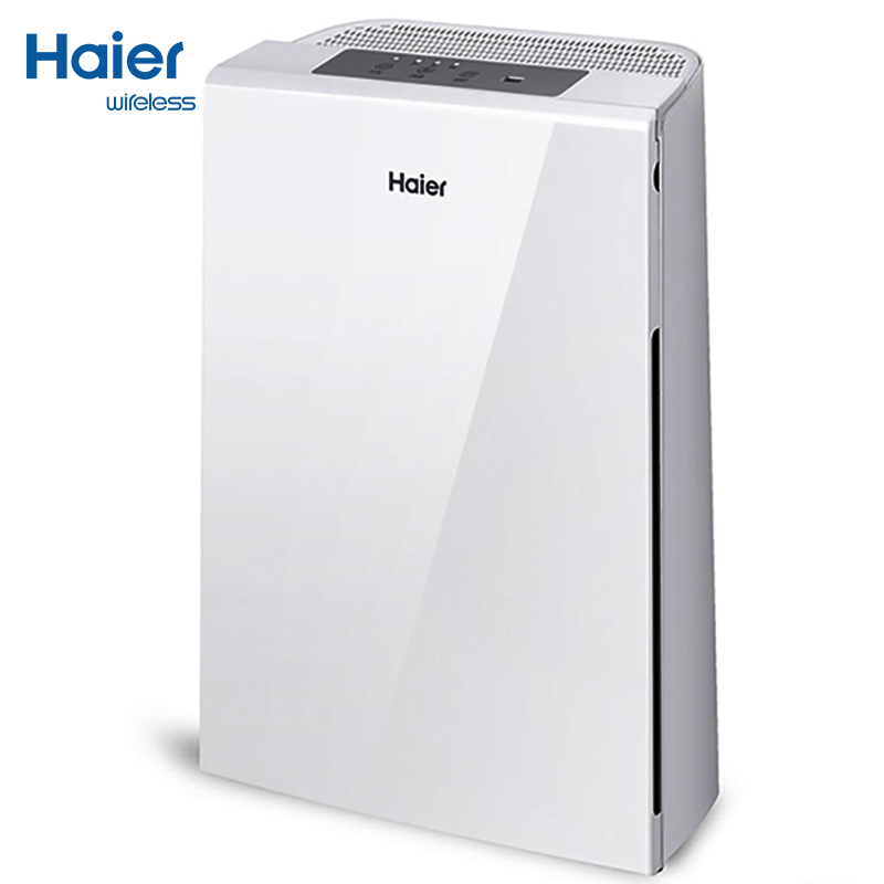 Haier Professional Mute Electric Air Purifier Cigar Smoke Haze Formaldehyde Air Cleaner Negative Ion Household Bedroom Office high quality portable air purifier usb household car use negative ion smoke removal dusting function air cleaner office use