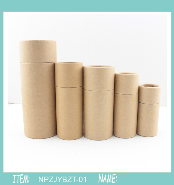 50pcs 50ml kraft paper tube oil bottle packaging cardboard jar for 50pcs 50ml kraft paper tube oil bottle packaging cardboard jar for gift jewelry cosmetics essential oil negle Image collections