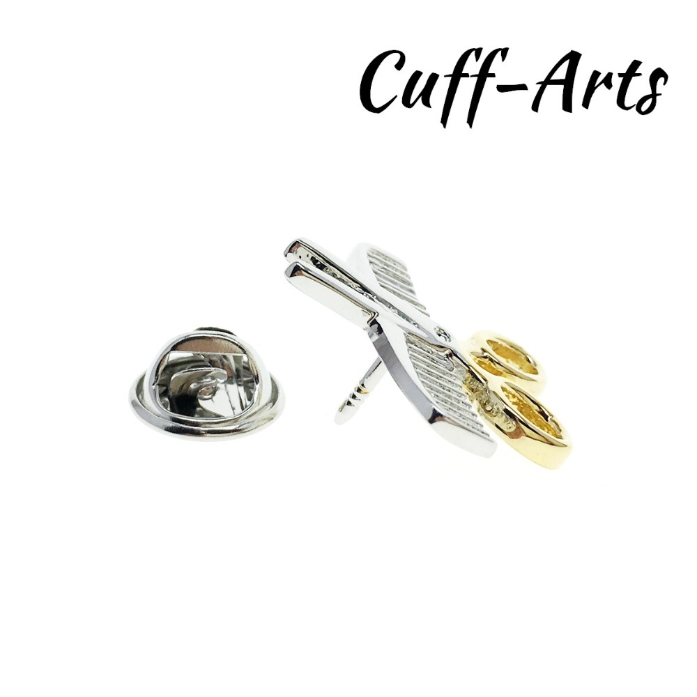 Brooch Lapel Pin For Men Pins and Brooches Comb and Scissors Lapel Pin Badge Brooch Jewelry By Cuffarts P10144 in Brooches from Jewelry Accessories