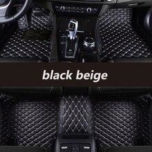 HeXinYan Custom Car Floor Mats for Jaguar All Models F-PACE XJL XEL XF XE F-TYPE XK XFL auto styling car accessories