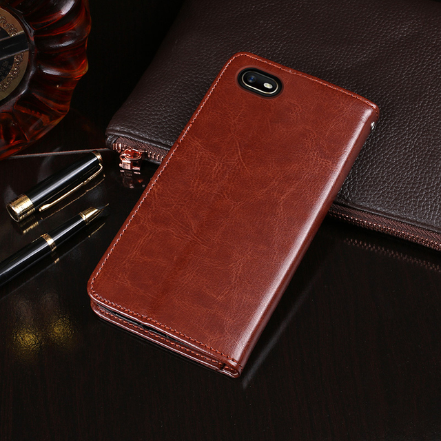 For Oppo A1K Case Flip Wallet Business PU Leather Phone Case for Oppo A1K Back Cover Capa Accessories