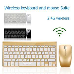 Image 4 - Motospeed G9800 2,4 GWireless Tastatur und Maus Multimedia Tastatur Maus Combo Set Für Notebook Laptop Mac Desktop PC TV Büro