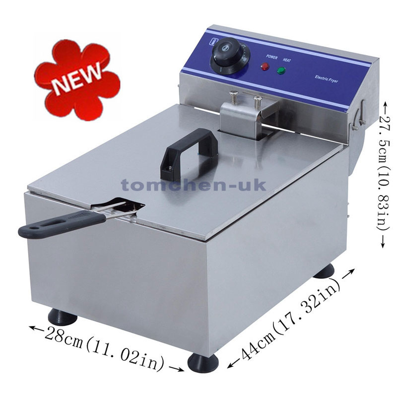 Hot Sale Electric Deep Fryer Commercial Electric Fryer French Fries Fried Chicken Deep Frying Furnace commercial double screen cylinder electric deep fryer french fries machine oven pot frying machine fried chicken row eu us plug
