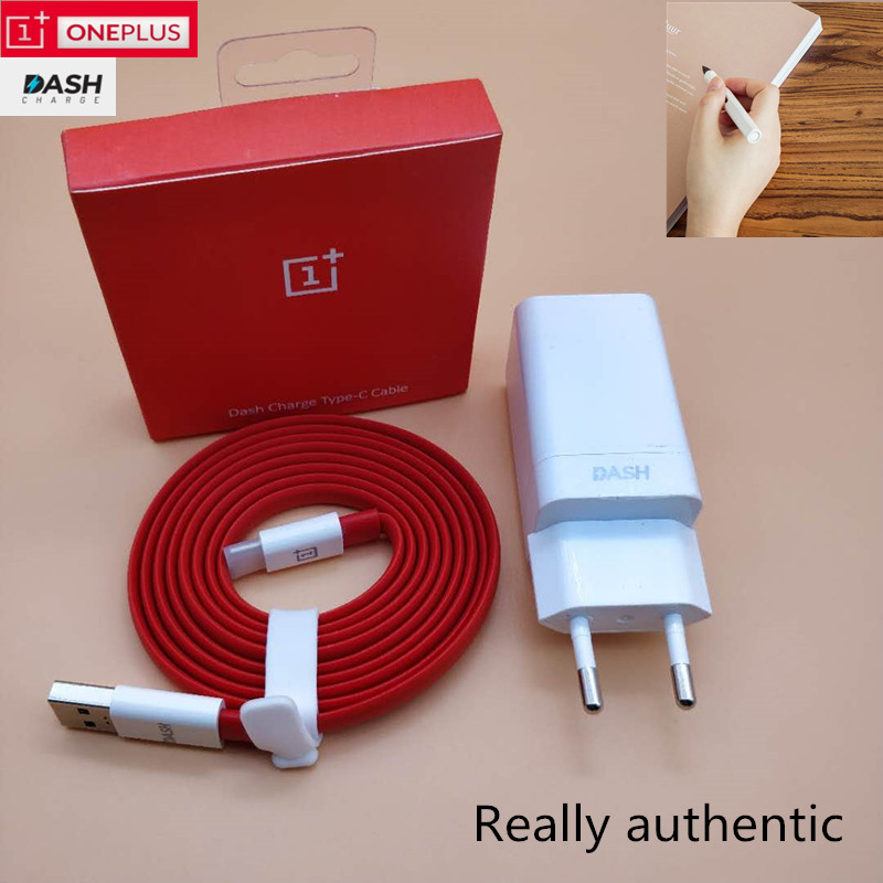 EU Oneplus 6 dash charger Original Fast charge 6T 5t 5 3t one plus Smartphone power adapter quick charging usb 3.1 type C cable