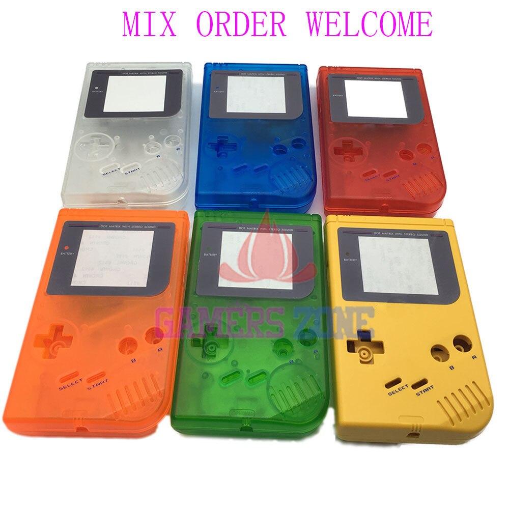 9PCS For Nintendo Game Boy Original DMG 01 Case Shell Housing For Gameboy Classic Full Housing