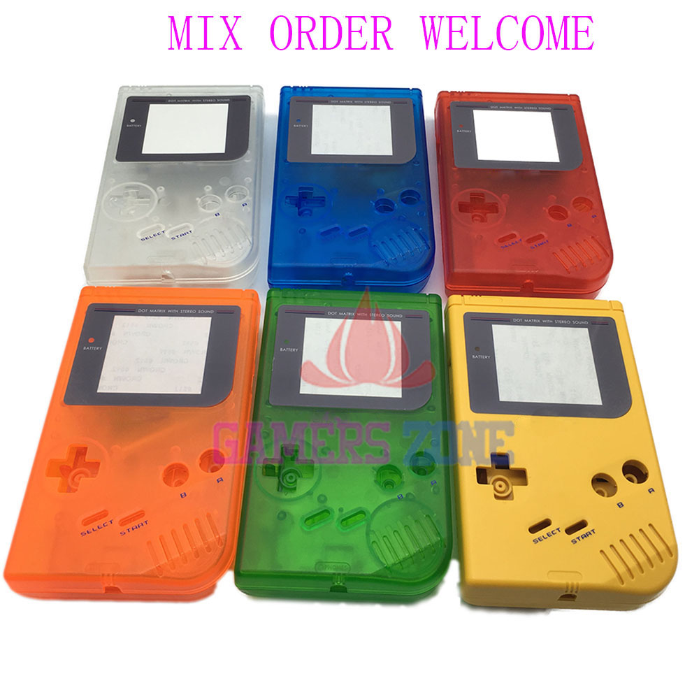 9PCS For Nintendo Game Boy Original DMG-01 Case Shell Housing For Gameboy Classic Full Housing Shell
