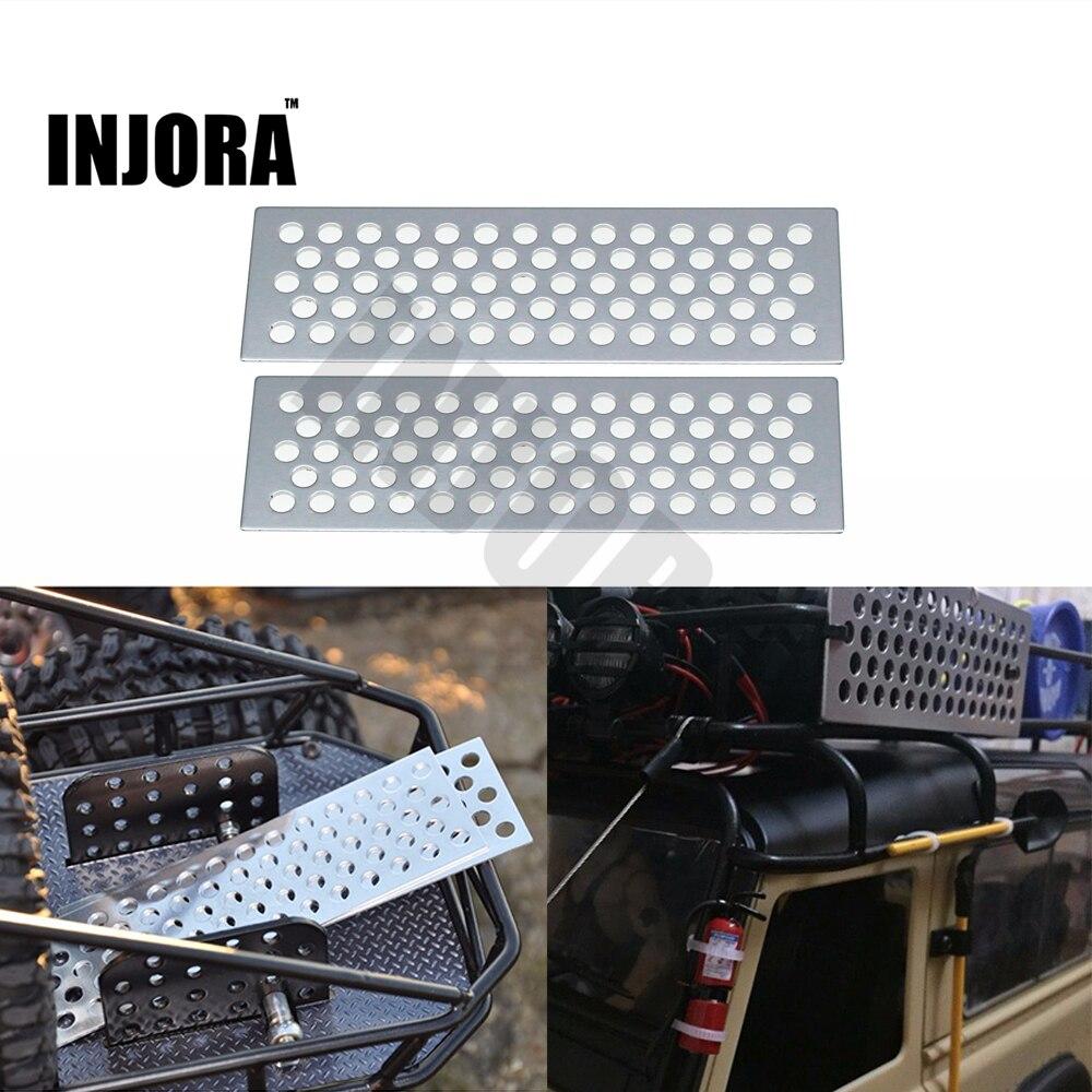 1 Unidades RC Crawler 1:10 Metal escalera arena/arena herramientas del tablero para Axial SCX10 Tamiya CC01 D90 D110 TF2 traxxas TRX-4 RC Coche