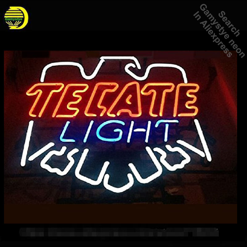 Neon Sign for Tecat Light Beer neon bulb Sign Beer Bar Pub Neon lights glass Tube Iconic Advertise Light Pub Bar Signs Super artNeon Sign for Tecat Light Beer neon bulb Sign Beer Bar Pub Neon lights glass Tube Iconic Advertise Light Pub Bar Signs Super art