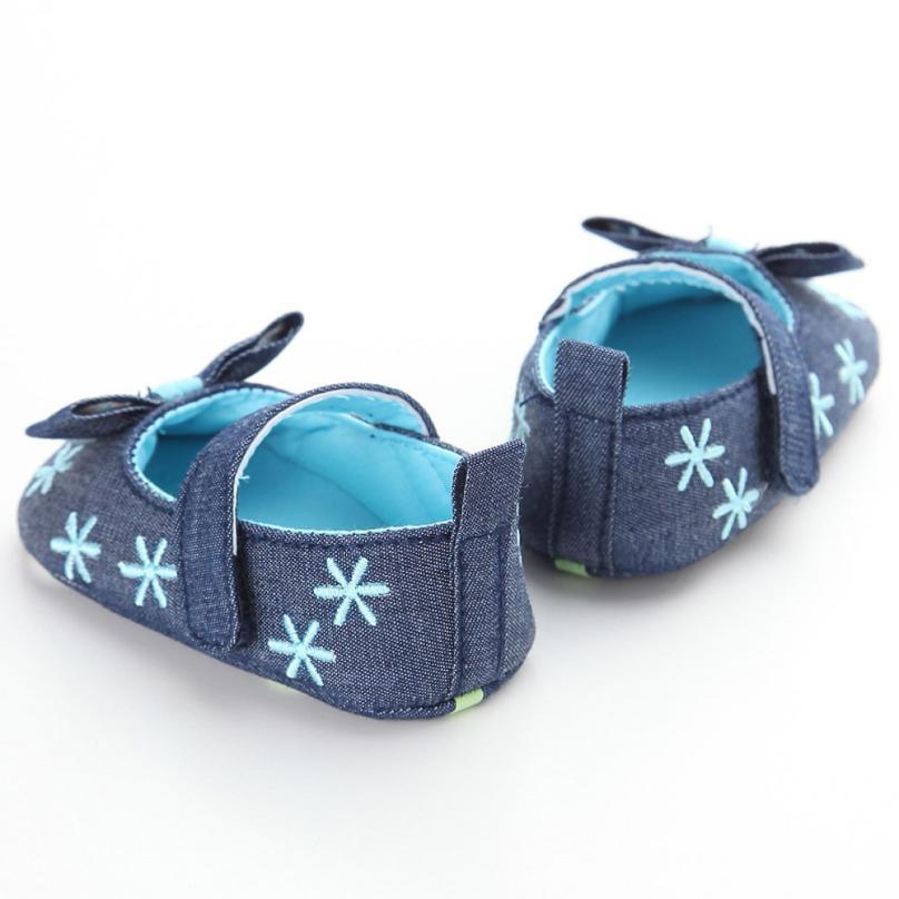 2017 Baby Infant Kids Girl Soft Sole Crib Toddler Newborn Shoes BTTF