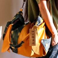 women Denim handbag denim shoulder bag big leisure handbag