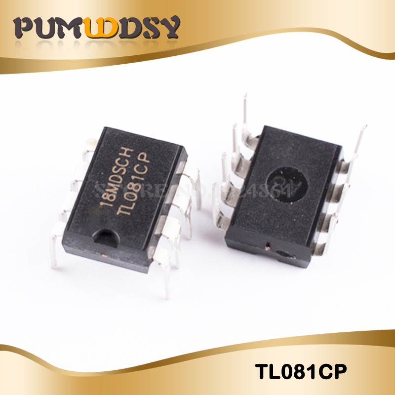 20Pcs TL082CP TI DIP8 IC Jfet-input Operational Amplifiers HC