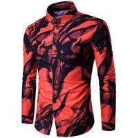 2016 4XL Men S Winter Thicken Warm Velvet Shirt Tops Mens Casual Long Sleeve Regular Korean