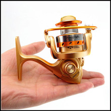 BWM150 Mini Spinning Reel 5.5:1 Ratio in Palm 10BB Nylon Material Mini Ice Fishing Pole Carp Fly Lure Fishing Gear