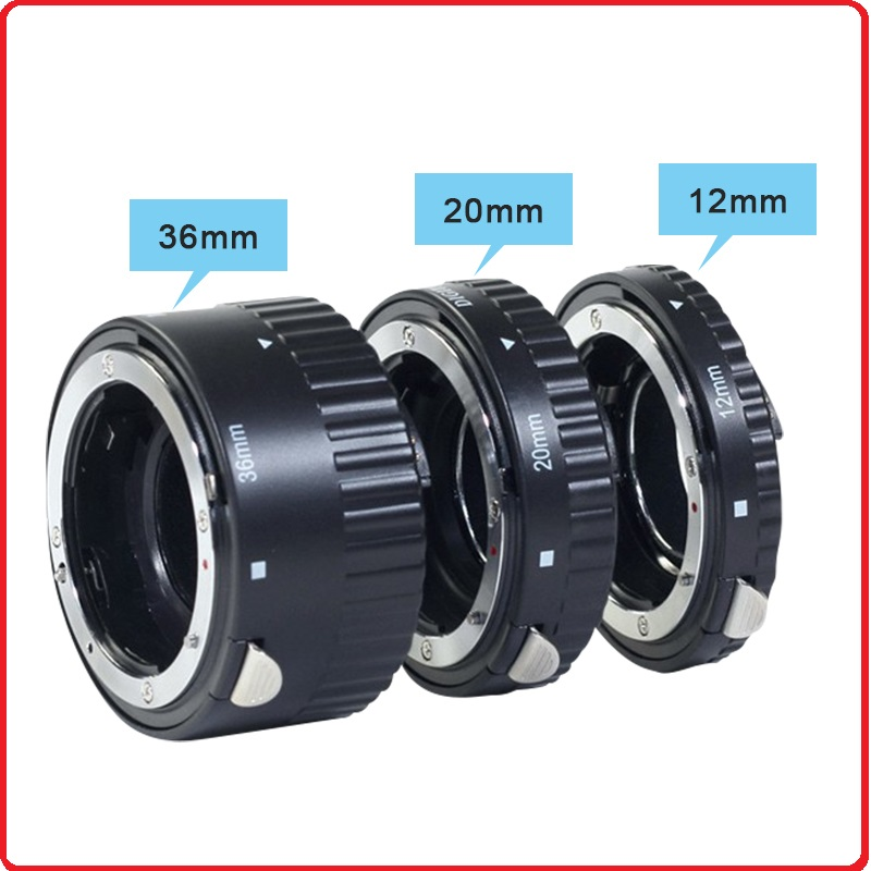 Metal Mount Auto Focus AF Macro Extension Tube Ring for Nikon D3200 D3100 D5100 D3300 D7100 D7000 D5200 D90 D5300 D750 D800 D60 macro extension tube for sony e mount ac ms silver grey
