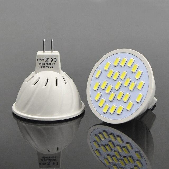 1 Stks Energiebesparing 7 W MR16 AC 220 V LED lamp Hittebestendige ...