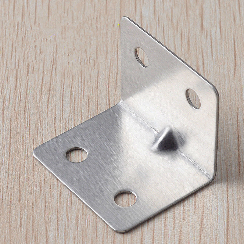 2835MM Stainless Steel Corner 90 Degree Angle Iron Furniture Connector Fastener Tables Chairs