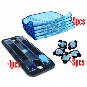 Image 5 - Parte para iRobot Braava 380 380t 320 Mint 4200 5200 aspiradora mopa Pad Pro Clean Mopping Clean depósito Pad tapón con mecha y mopa