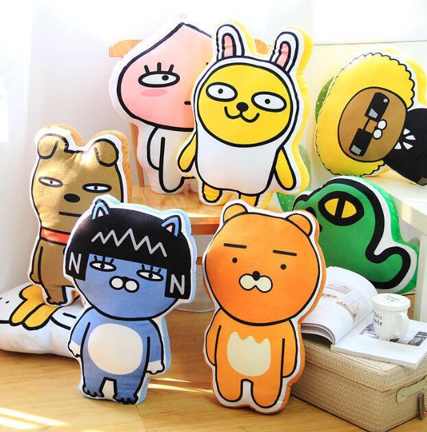 1PCS HOT Korean Fashion kakao friends Dolls Plush Toy font b Anime b font Gift cute