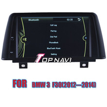 Top Professional Wince Car Multimedia DVD Auto Player For BMW 3 F30(2012-2014) With GPS Navigation BT Map