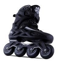 Adult Inline Skates Roller Skating Shoes Slalom Sliding Adult 2017 Newest kids shoes
