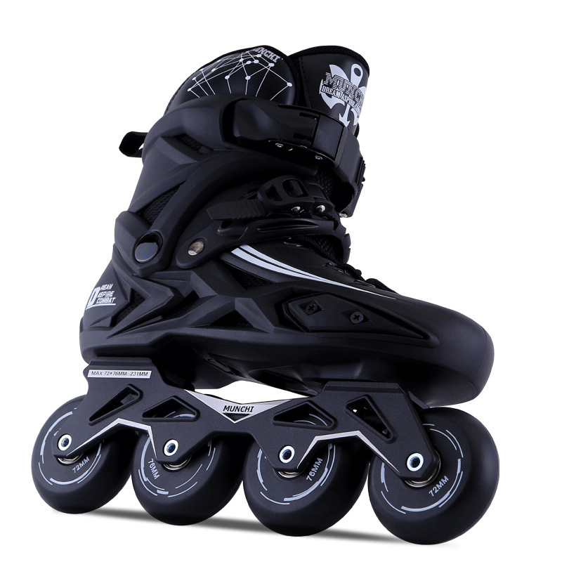 Adult Inline Skates Roller Skating Shoes Slalom Sliding Adult 2017 Newest kids shoes