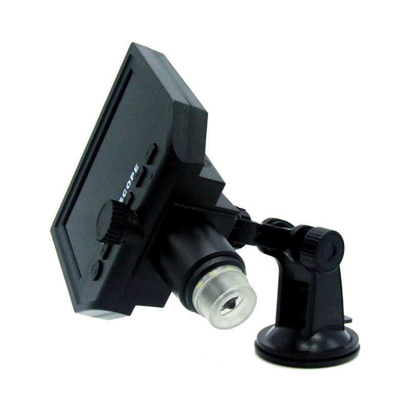 """600 цифровой электронный микроскоп Портативный микроскоп с 4,3 """"HD OLED экраном для ремонта материнской платы"""