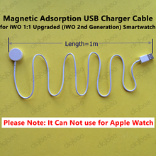 iWO Upgraded font b Smartwatch b font USB Magnetic Adsorption Charger Cable for 42MM iWO 2nd