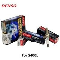 4 peças/set DENSO vela de Ignição Do Carro Para O BENZ S400L C180 C200 E200/E250/E260/C260 CGI CLC230/350 CLK280 SXU22HDR8 Iridium Platina