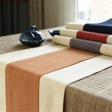 Chinese Retro Style Tea Ceremony Cotton & Linen Table Runner Tea Accessories Decorative Table Flag Cabinet Cover For Home Or Bar