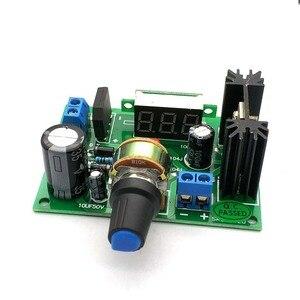Image 2 - Led LM317 Step Down Power Supply Module Verstelbare Voltage Regulator Ingang Dc 0V 30V Ac 0V 22V Output Dc 1.25V 30V 2A