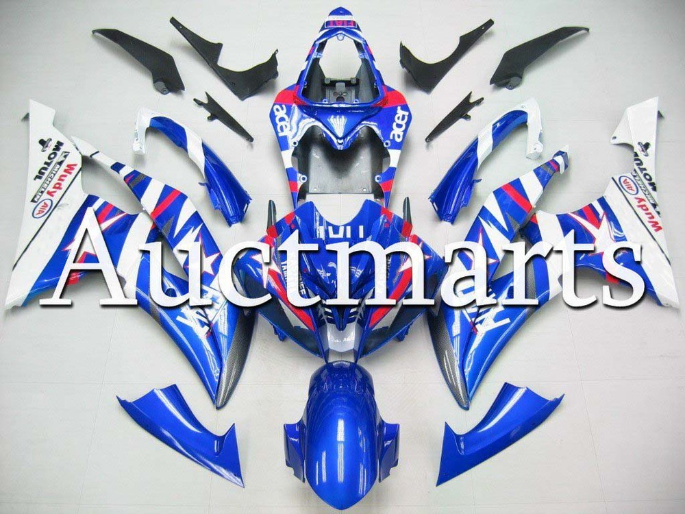 For Yamaha YZF 600 R6 2008 2009 2010 2011 2012 2013 2014 YZF600R 08-14 inject ABS Plastic motorcycle Fairing Kit YZFR6 08-14 11 unpainted abs plastic front fender fit for yamaha 2008 2012 yzf r6 injection mould motorcycle fairing frame cover part
