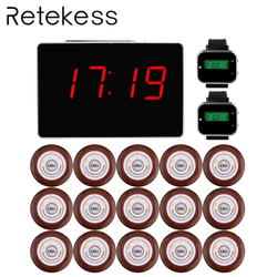 Restaurant Waiter Calling System Wireless Watch Pager Table Call Bell System Vibrating Buzzer Beeper Customer Service Equipment
