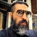 Vintage Steampunk Óculos De Sol Dos Homens Marca de Luxo de Grandes Dimensões Senhoras Retro Shades Óculos de Sol Femininos Masculinos Óculos De Sol Das Mulheres 2016 Óculos