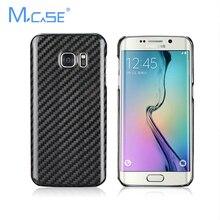Mcse Новое Прибытие Роскошные Углеродного Волокна Case Cover For Samsung Galaxy S7 edge G935 G935FD для SamsungS7 Подлинная Углеродного Волокна крышка