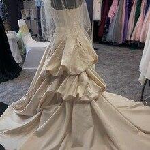 kejiadian satin Wedding Dress Ball gown Bridal Gown train