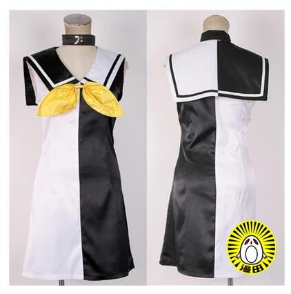 VOCALOID Anime Cos Hatsune Miku Halloween Man Woman Cosplay Kagamine Rin Dress Cosplay Costume