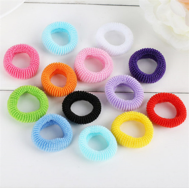 100pcs/bag Quality 28 mm Child baby Small Rubber Bands Elastic ...