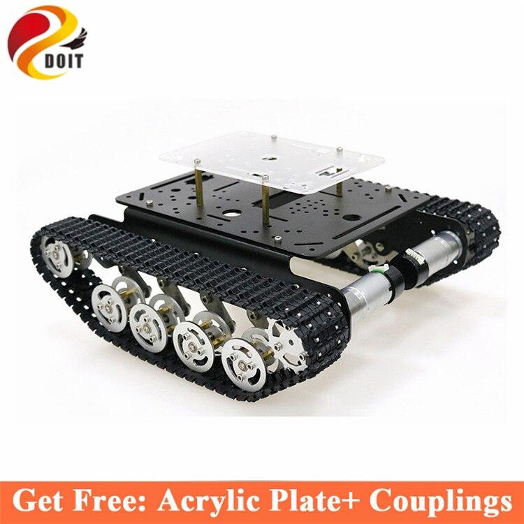 Здесь продается  Shock Absorber Metal Tank Chassis Frame with Robotic Arm interface holes for Modification, DIY, Tank model TS100  Бытовая электроника