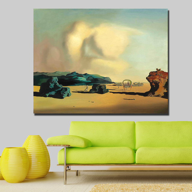 Wall art Salvador Dali transition moment Painting Living Room Home Decoration Oil Painting on Canvas Wall Painting 3